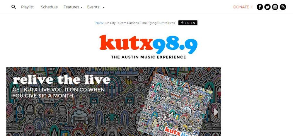 KUTX 98.9 FM — Austin, Texas