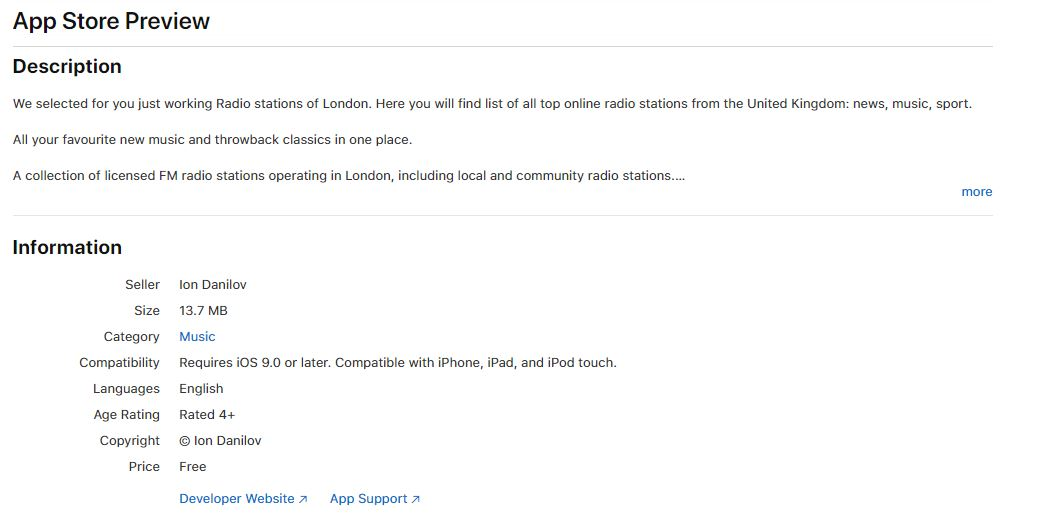 london app review