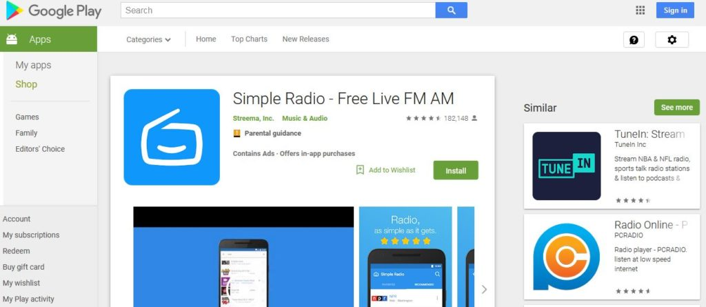 Simple Radio – Free Live FM AM