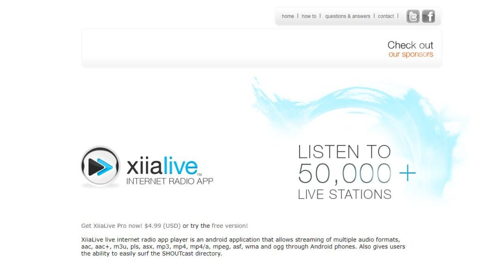 XiiaLive – Radio Reference