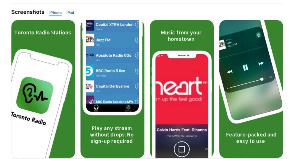 toronto radio app free